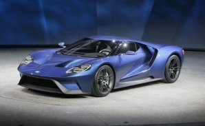 The second generation, honoring the original, infamous Ford GT40.